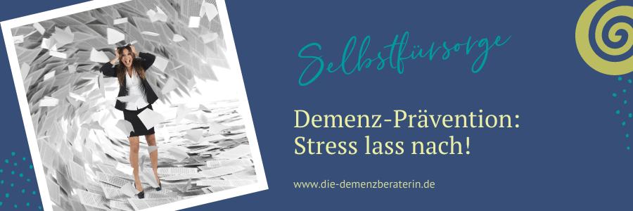 Demenzrisiko Stress