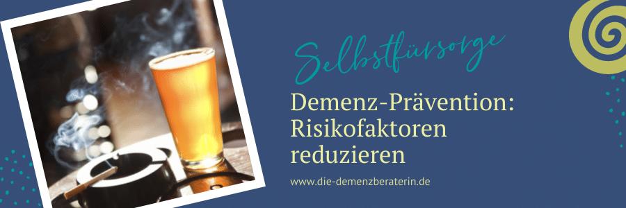 Risikofaktoren Demenz