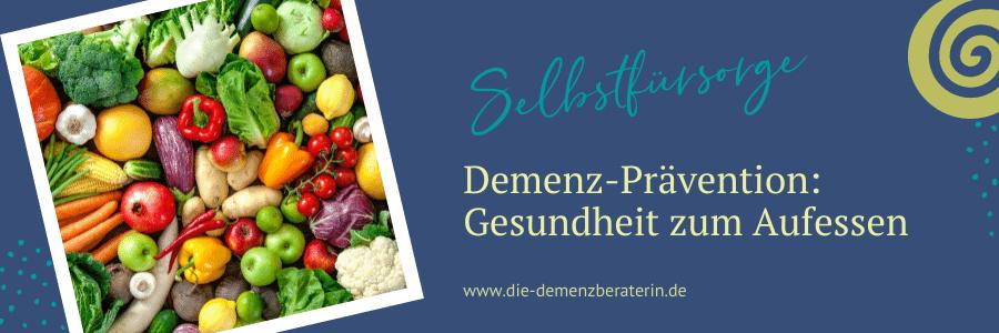 Essen gegen Demenz