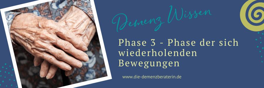 Demenz Phase 3